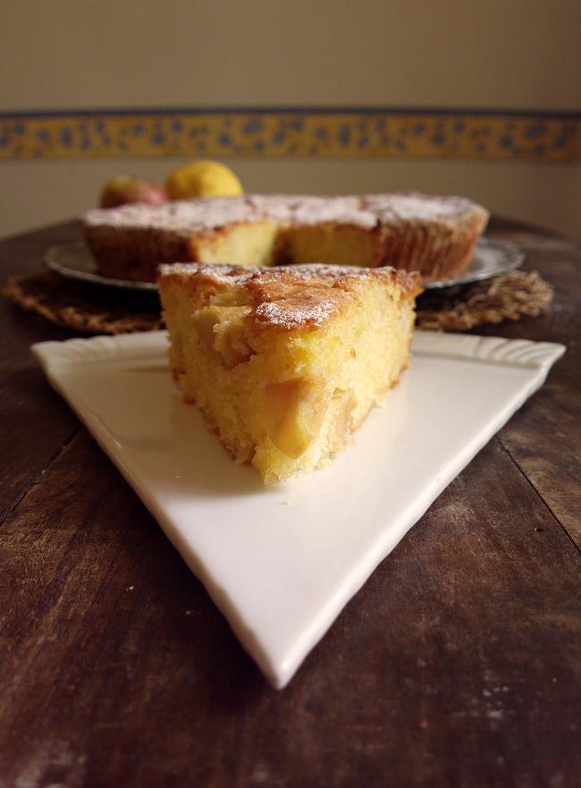 """Torta di mele soffice """"Colto e Mangiato"""""""