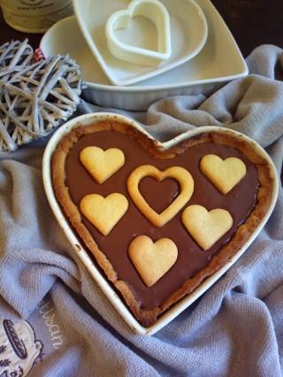Crostata a forma di cuore per San Valentino4