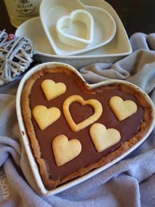 Crostata a forma di cuore per San Valentino5