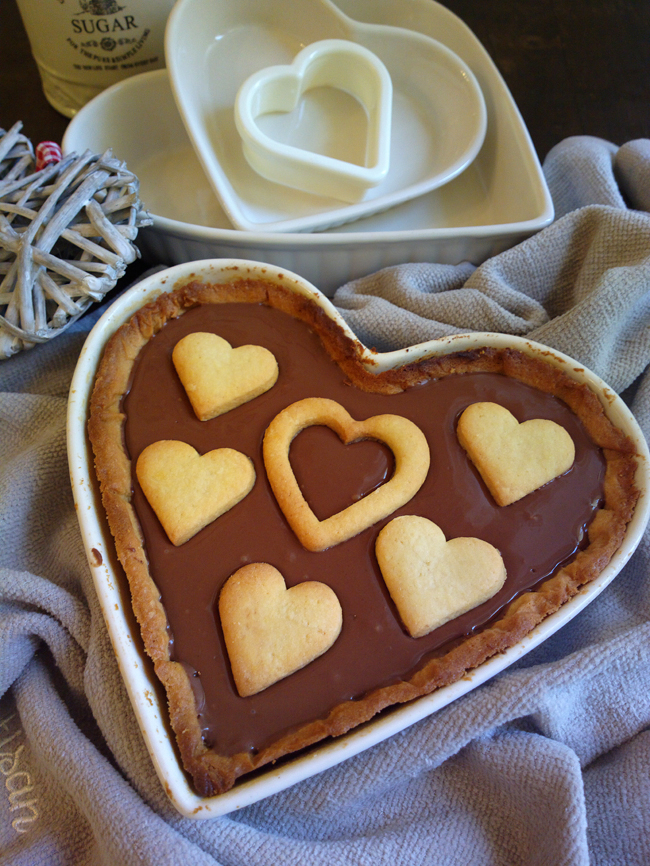 Crostata A Forma Di Cuore Per San Valentino Un Dolce Al Giorno