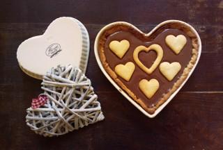 Crostata a forma di cuore per San Valentino9