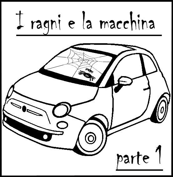 Diario di una aracnofobica - I ragni e la macchina parte 1
