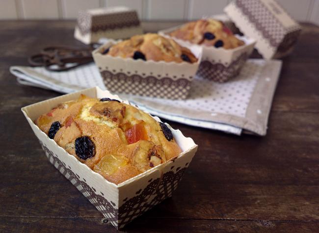 Mini plumcake ai frutti tropicali