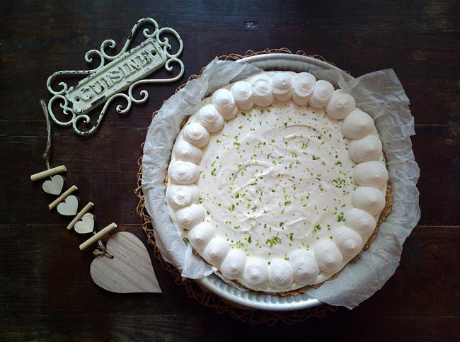 Key lime pie senza cottura