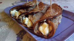 Necci toscani – crepes dolci di farina di castagne