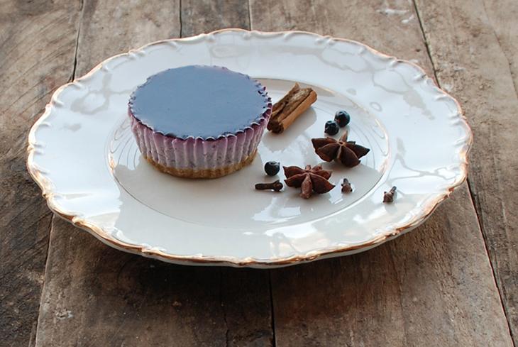 Mini cheesecake light al vin brulé