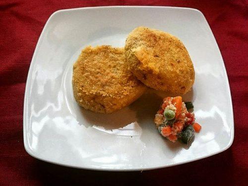 Burger di miglio e quinoa con verdure vegan