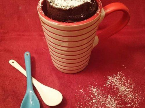 Mug cake light in 5 minuti