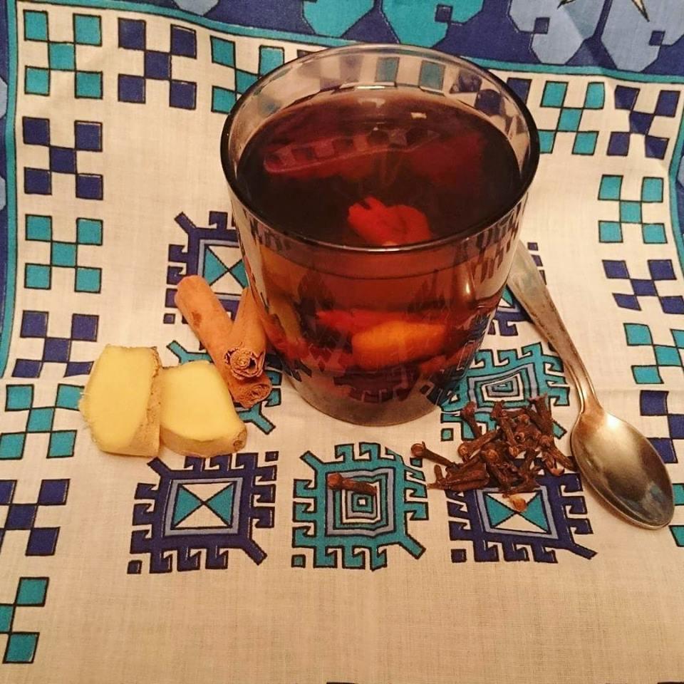 tisana digestiva cannella zenzero e chiodi di garofano