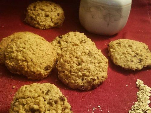Biscotti all'avena e grano saraceno
