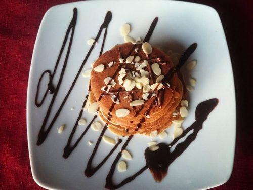Pancakes all'avena senza glutine
