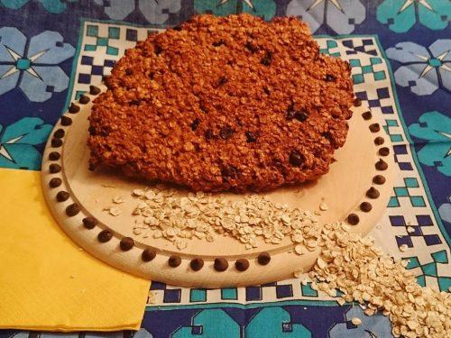 Biscotto proteico all'avena