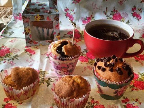 Muffin ripieni senza glutine