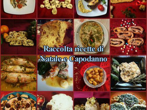 Raccolta ricette di Natale e Capodanno