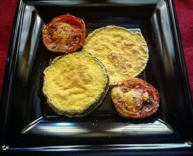 Cotolette di zucchine al forno
