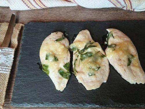 Petto di pollo con farina vino e limone