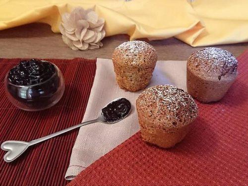 Muffin al grano saraceno senza glutine e senza lattosio