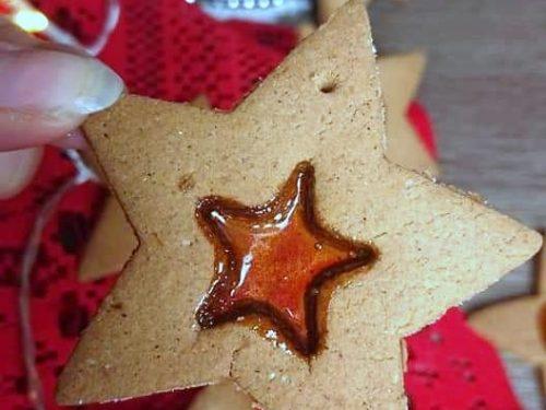 Biscotti di vetro senza glutine senza lattosio
