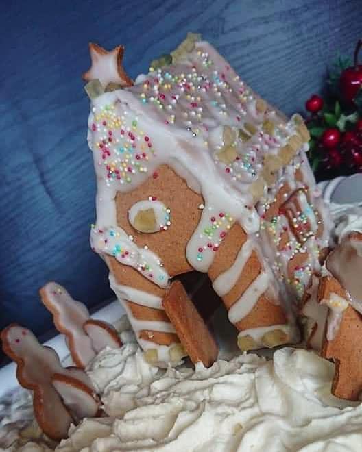 Casa di biscotto senza glutine senza lattosio