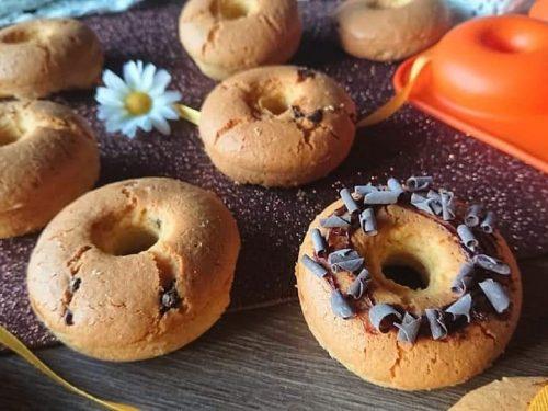 Ciambelline al forno senza glutine senza lattosio