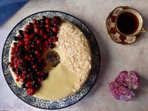 Chiffon cake giapponese senza glutine senza lattosio