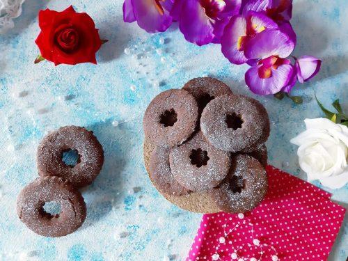 Biscotti avena cioccolato e panna senza glutine e senza lattosio