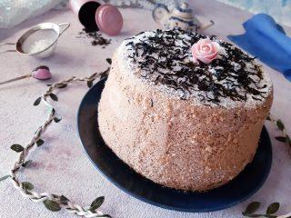 Chiffon cake al tè Earl grey senza glutine senza lattosio