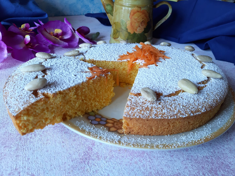 torta di carote senza mandorle misya