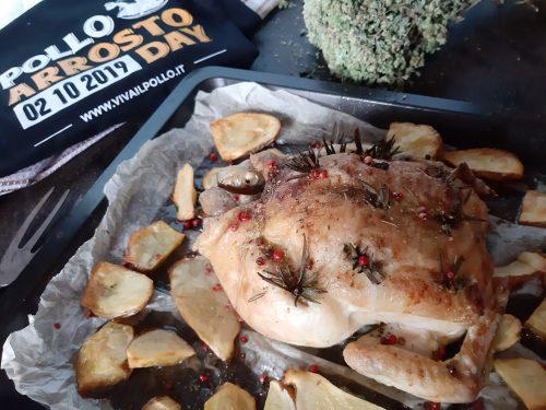 Pollo arrosto saporito