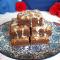 Brownies cioccolato e burro d'arachidi senza glutine senza lattosio