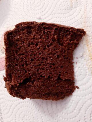 Chiffon cake al cioccolato senza glutine senza lattosio