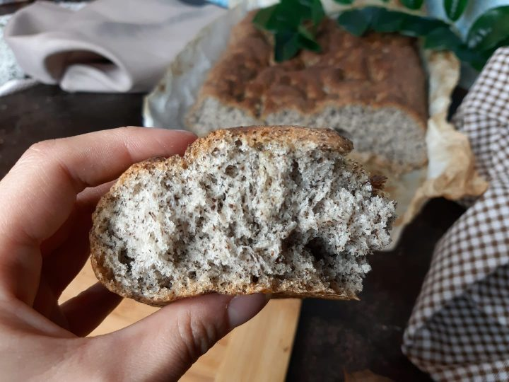 Focaccia al grano saraceno senza glutine senza lattosio