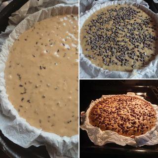 Torta cookie senza glutine senza lattosio