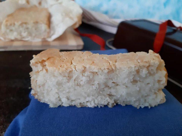 Filoncino di pane con farine naturali senza glutine senza lattosio
