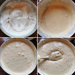 Chiffon cake al caffè senza glutine senza lattosio
