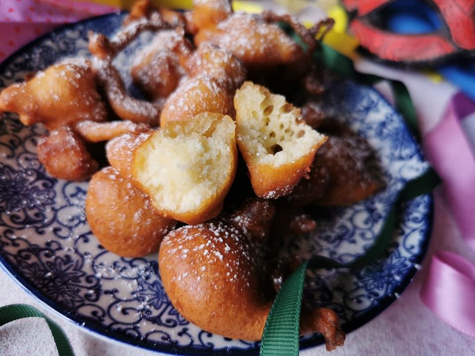 Frittelle di Carnevale senza glutine senza lattosio