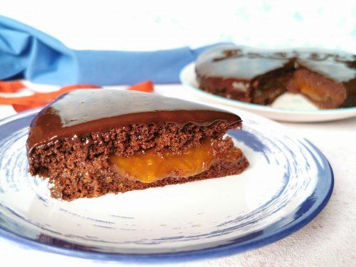 Torta Sacher senza glutine senza lattosio