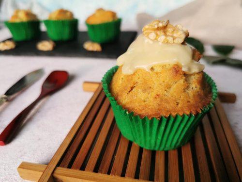 Muffin gorgonzola e noci senza glutine