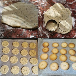 Biscotti al sencha senza glutine senza lattosio