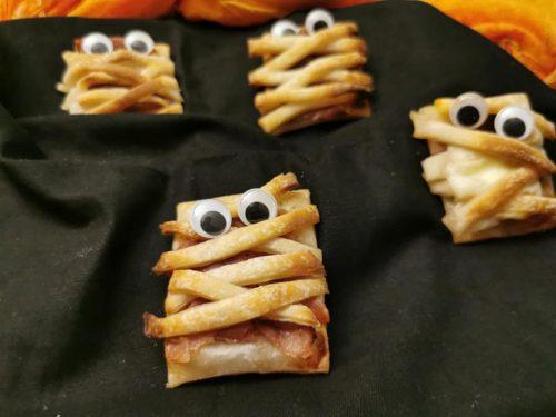 Mummie sfogliate di Halloween