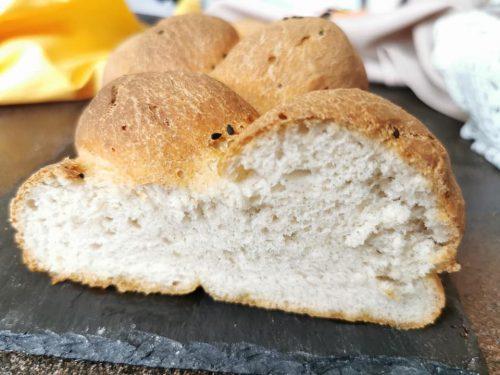 Treccia di pane con Mix B Schar senza glutine