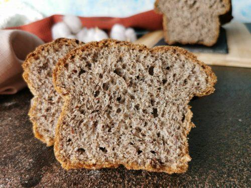 Panbauletto saraceno con semi di lino senza glutine
