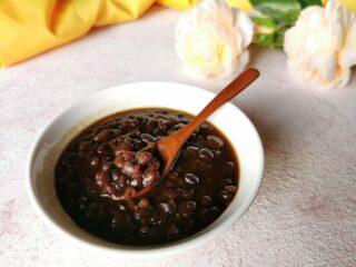 Zuppa dolce di fagioli rossi azuki