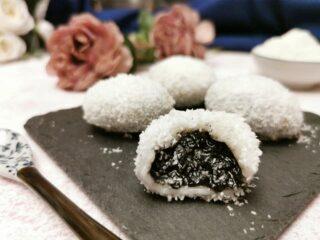 Tangyuan al cocco senza glutine