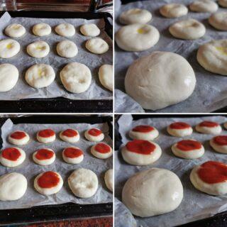 Pizzette con farina Piaceri Mediterranei senza glutine