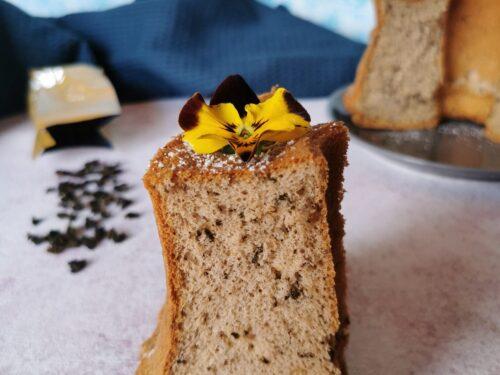Chiffon cake al tè al gelsomino senza glutine senza lattosio