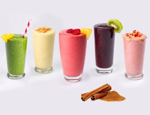 Smoothie di frutta fresca