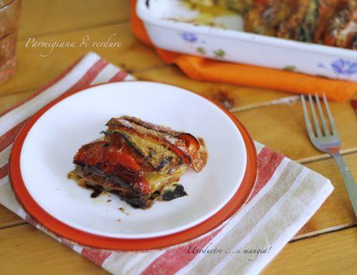 Parmigiana di verdure, senza frittura