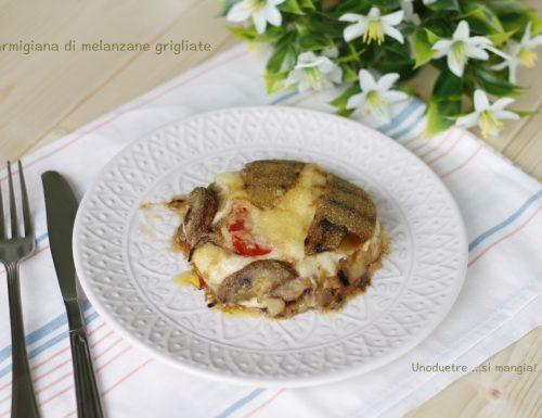 Parmigiana, ricetta con melanzane grigliate