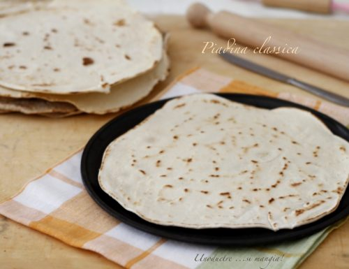 Piadina, come farla in casa